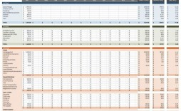 004 Simple Cash Flow Forecast Excel Template Uk Free Highest Clarity
