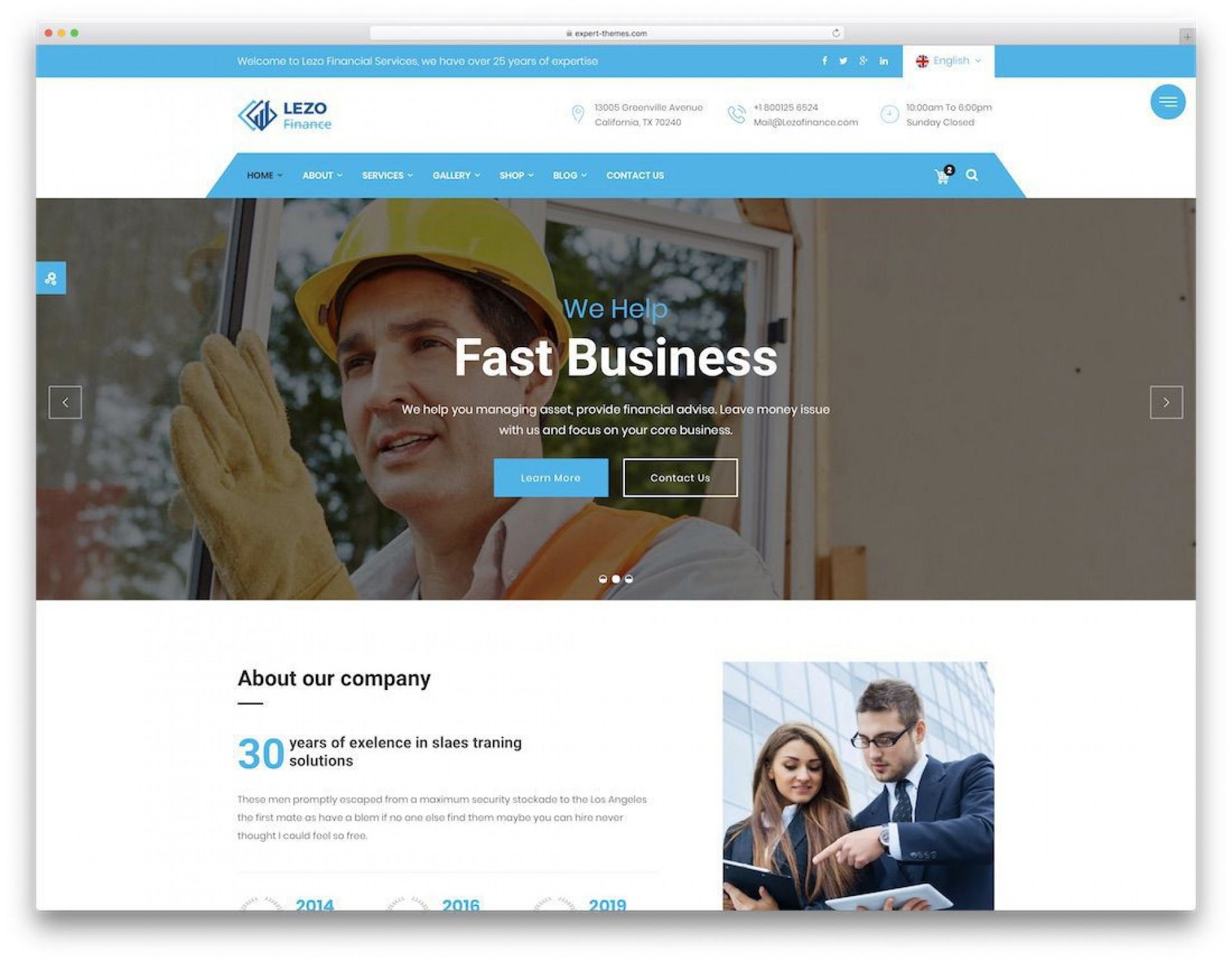 004 Simple Free Busines Website Template Download Html And Cs Design  Css1920