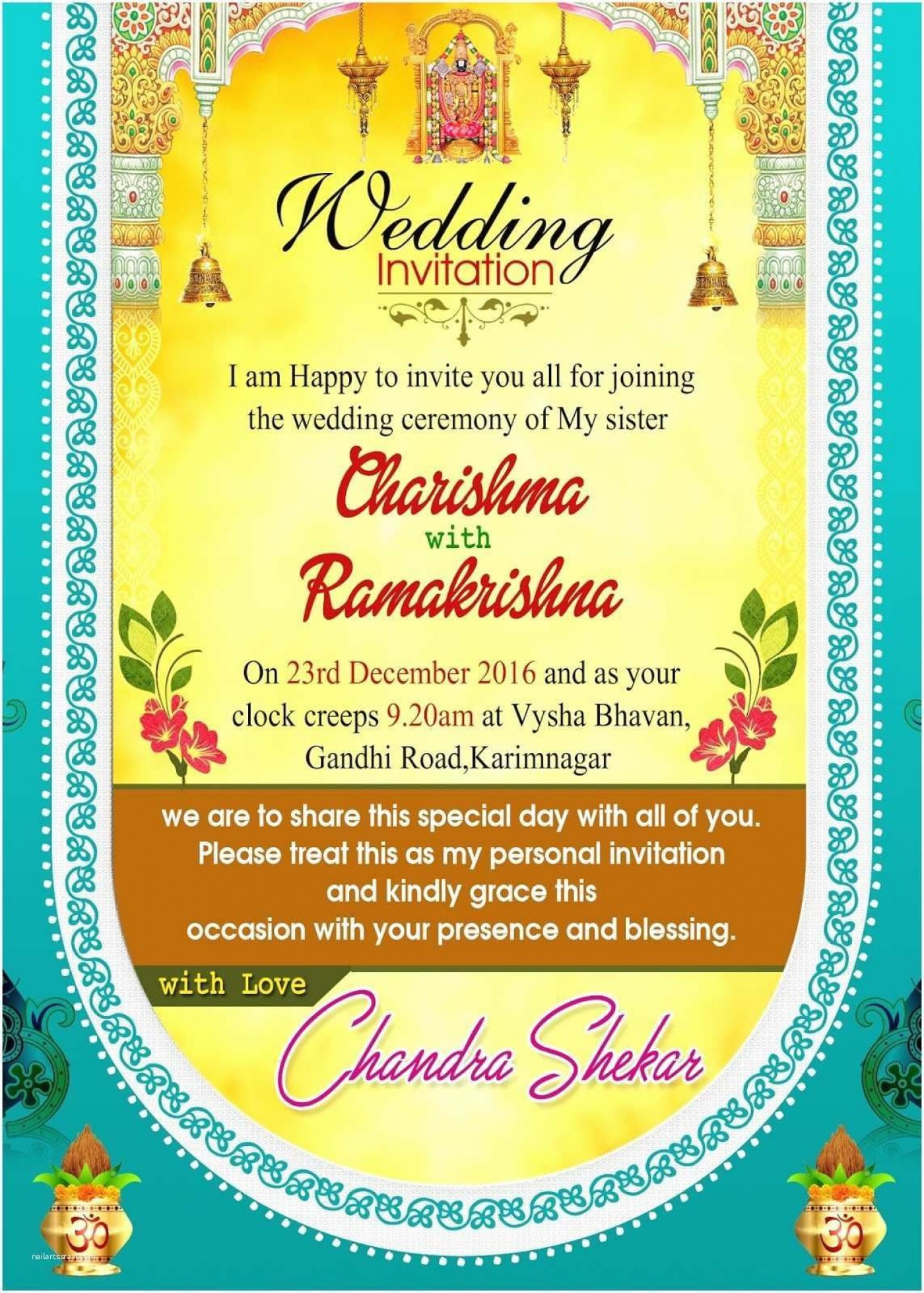 004 Simple Free Download Invitation Card Design Software Inspiration  Wedding For Pc Indian1400