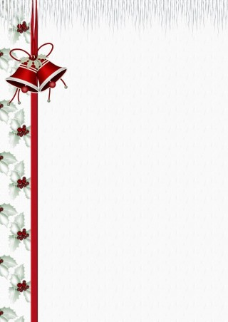 004 Simple Free Holiday Stationery Template For Word Highest Clarity 320