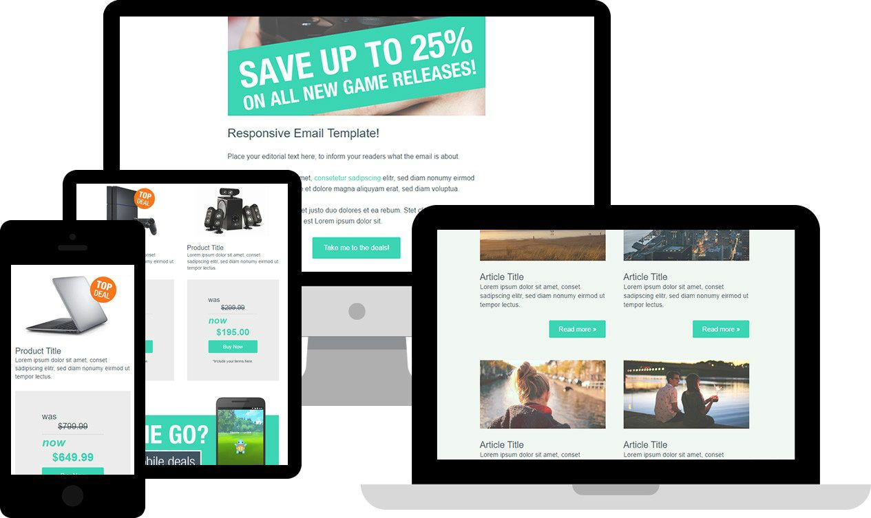 004 Simple Free Responsive Html Email Template Download Image  App-responsive-notification-email-html-templateFull