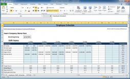 004 Simple Free Work Schedule Template Excel High Definition  Plan Monthly Employee