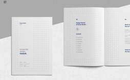 004 Simple Indesign Book Layout Template Idea  Free Download