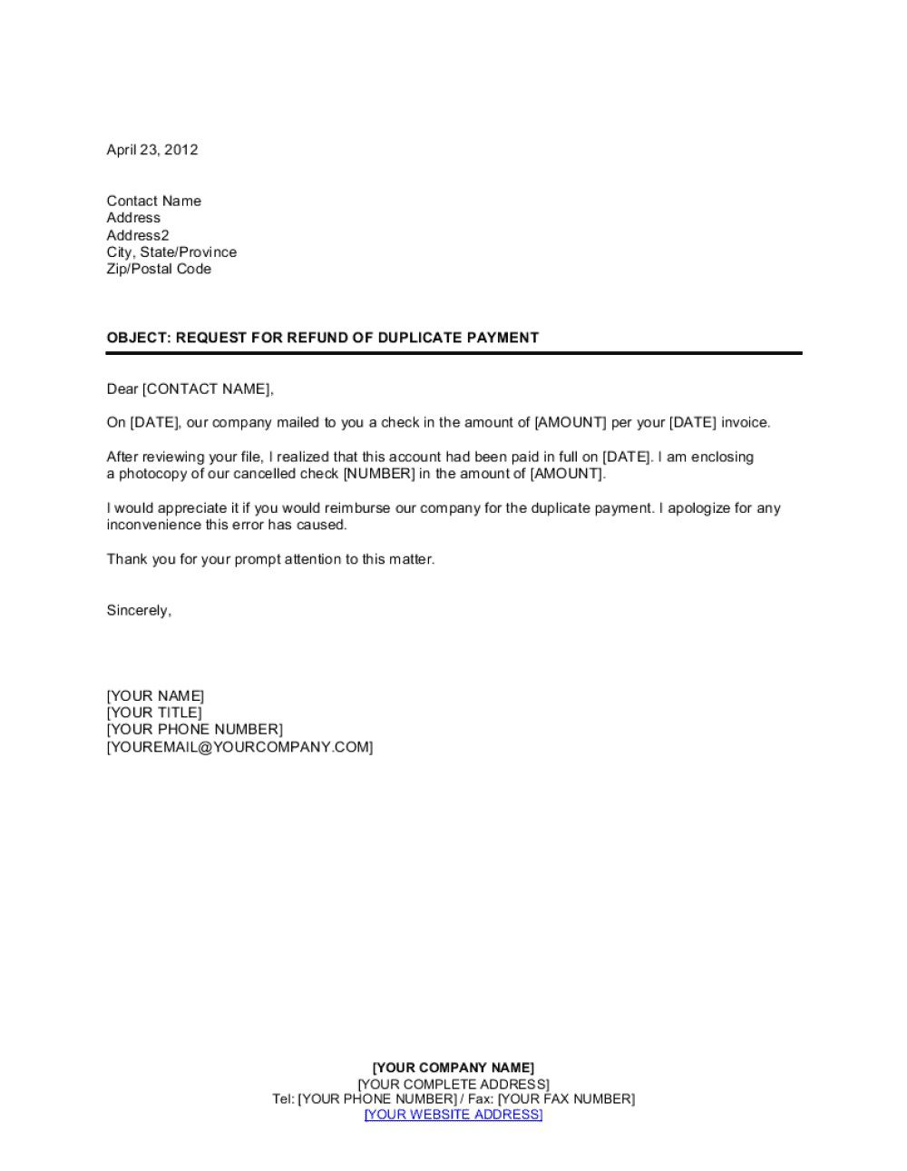 004 Simple No Return Policy Template High Resolution Full