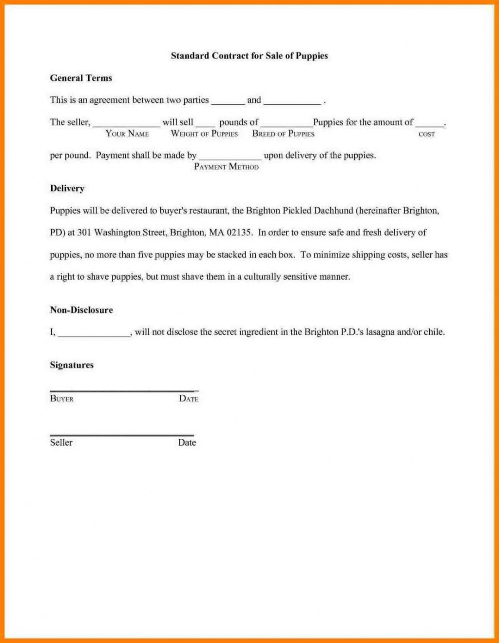 004 Simple Non Compete Agreement Template South Africa Photo Large