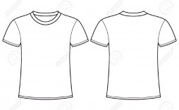 004 Simple Plain T Shirt Template Design  Blank Psd Free