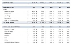 004 Simple Pro Forma Financial Statement Template High Definition  Format Sample