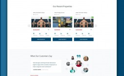 004 Simple Real Estate Website Template Idea  Templates Free Download Bootstrap 4 Listing Wordpres
