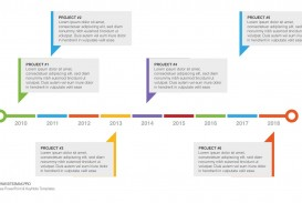 004 Simple Timeline Template Powerpoint Free Download Idea  Project Ppt Infographic