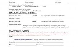 004 Simple Wedding Planner Contract Template Idea  Word Planning Coordinator Free