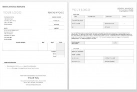 004 Simple Word Invoice Template Free High Resolution  M Download