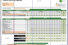 004 Singular Cash Flow Template Excel Free Example  Statement Download Format In