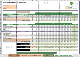 004 Singular Cash Flow Template Excel Free Example  Statement Download Format In320