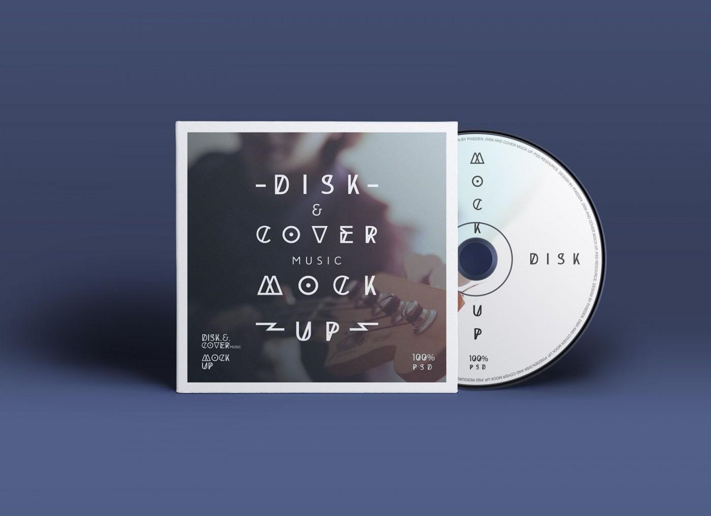 004 Singular Cd Cover Design Template Photoshop High Resolution  Label Psd Free1400