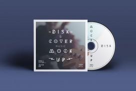 004 Singular Cd Cover Design Template Photoshop High Resolution  Label Psd Free