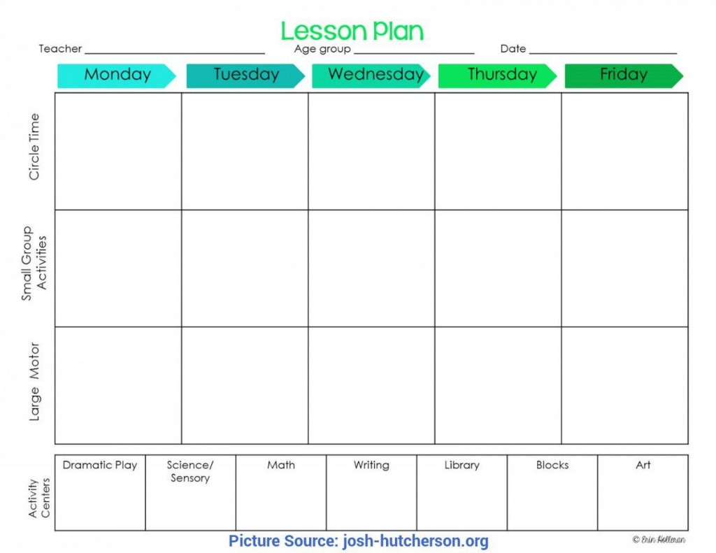 004 Singular Childcare Lesson Plan Template High Def  Daycare Example Child CareLarge