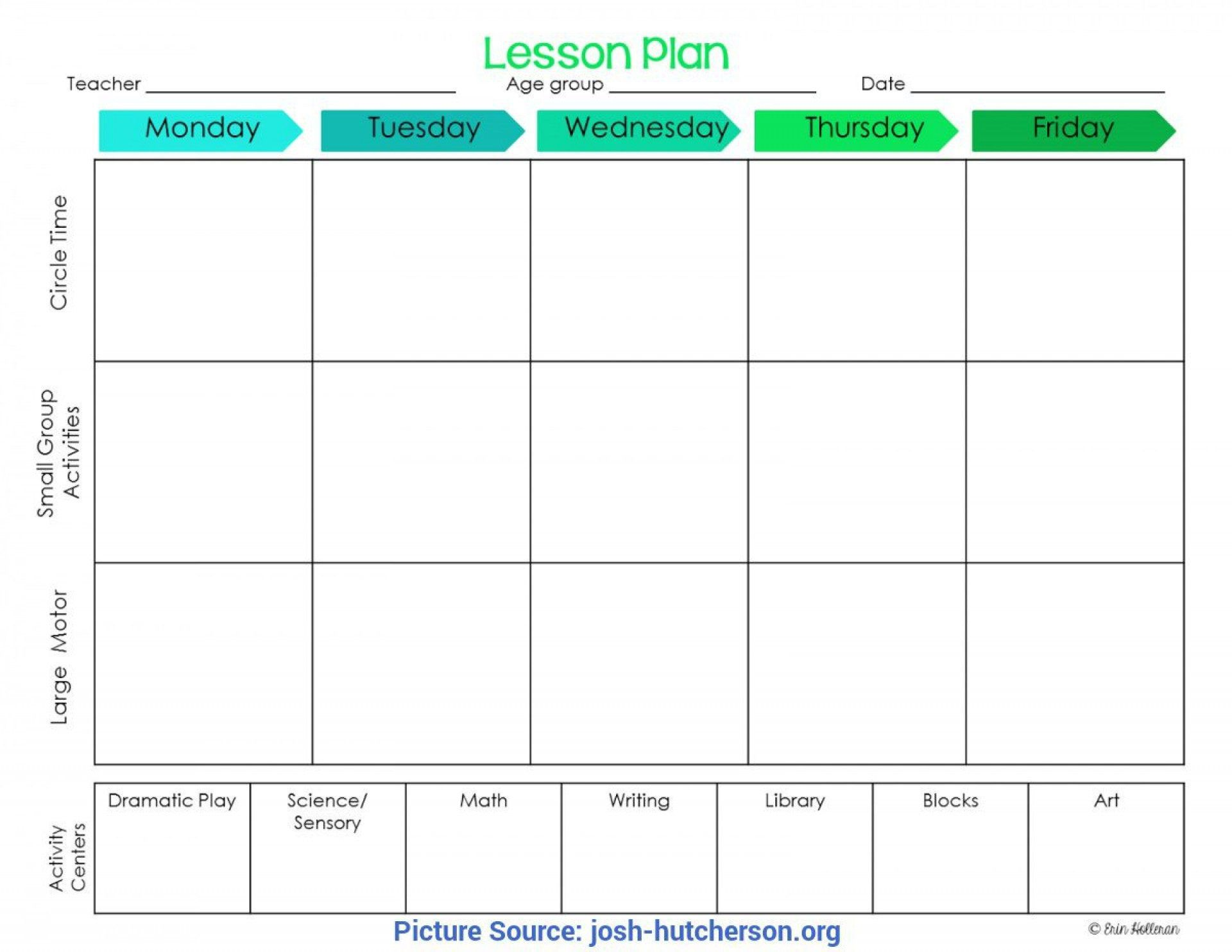 004 Singular Childcare Lesson Plan Template High Def  Daycare Example Child CareFull