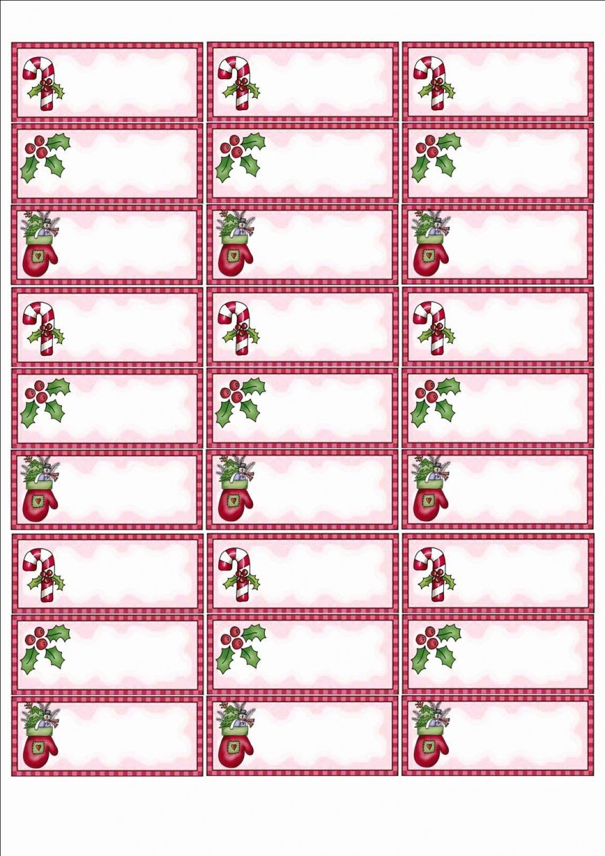 004 Singular Christma Shipping Label Template Photo  Templates Holiday Mailing Free