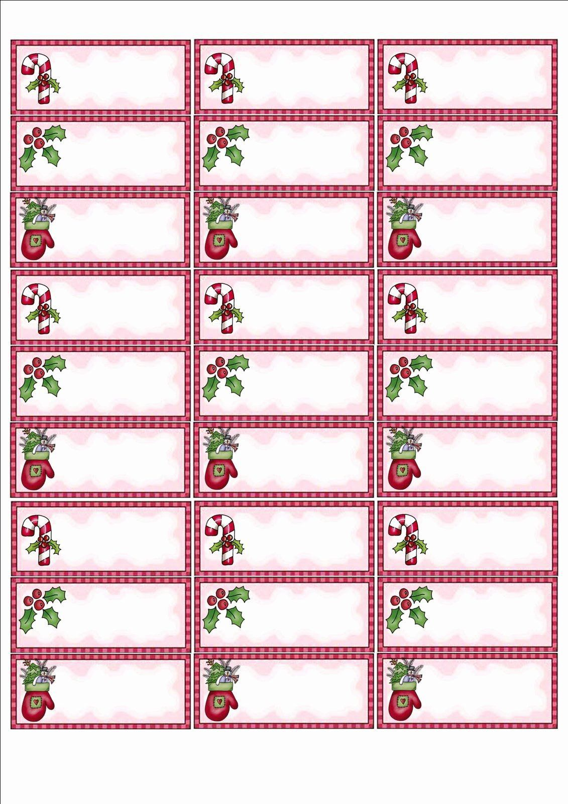 004 Singular Christma Shipping Label Template Photo  Templates Mailing FreeFull