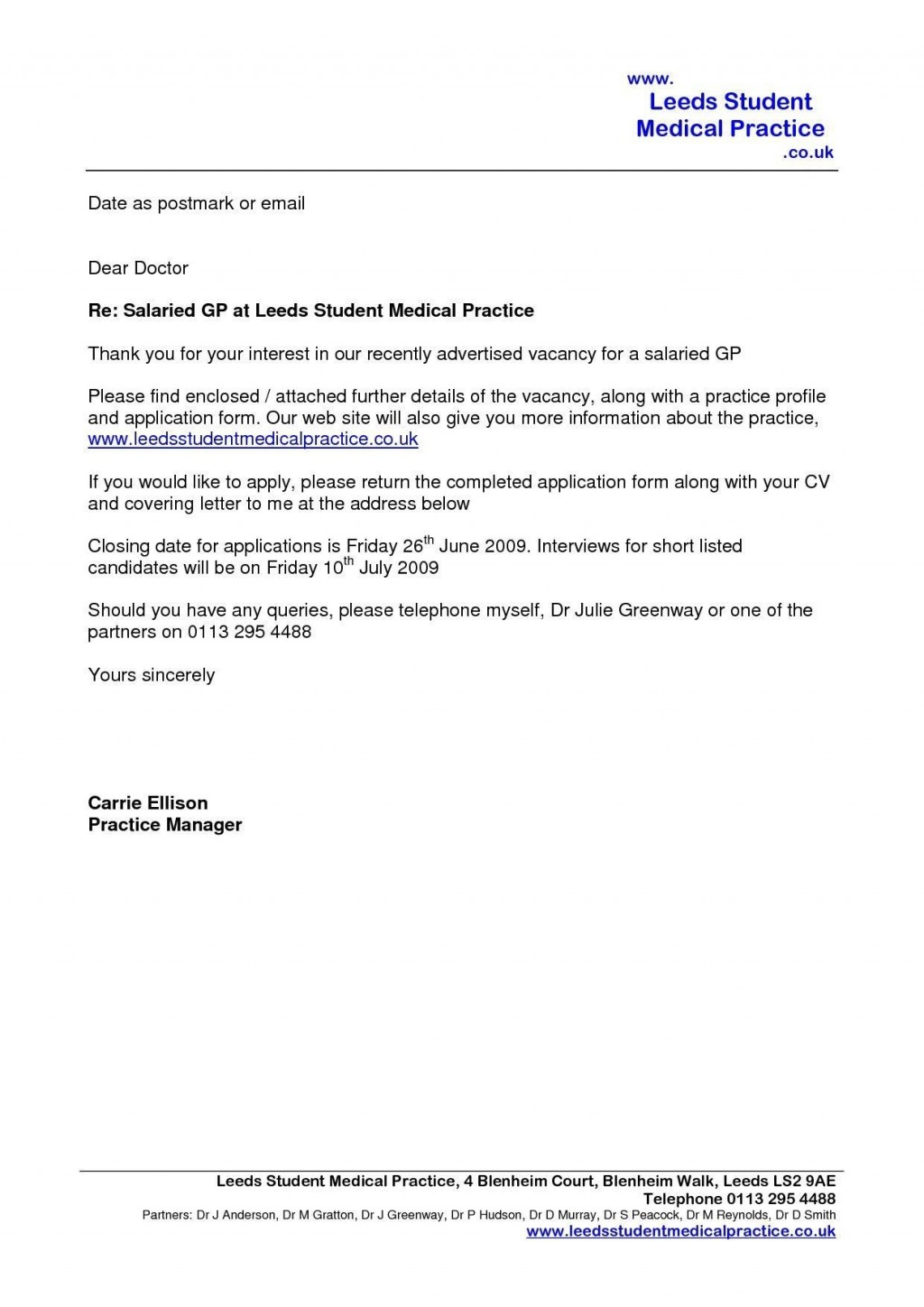 004 Singular Email Cover Letter Example Uk Concept Large