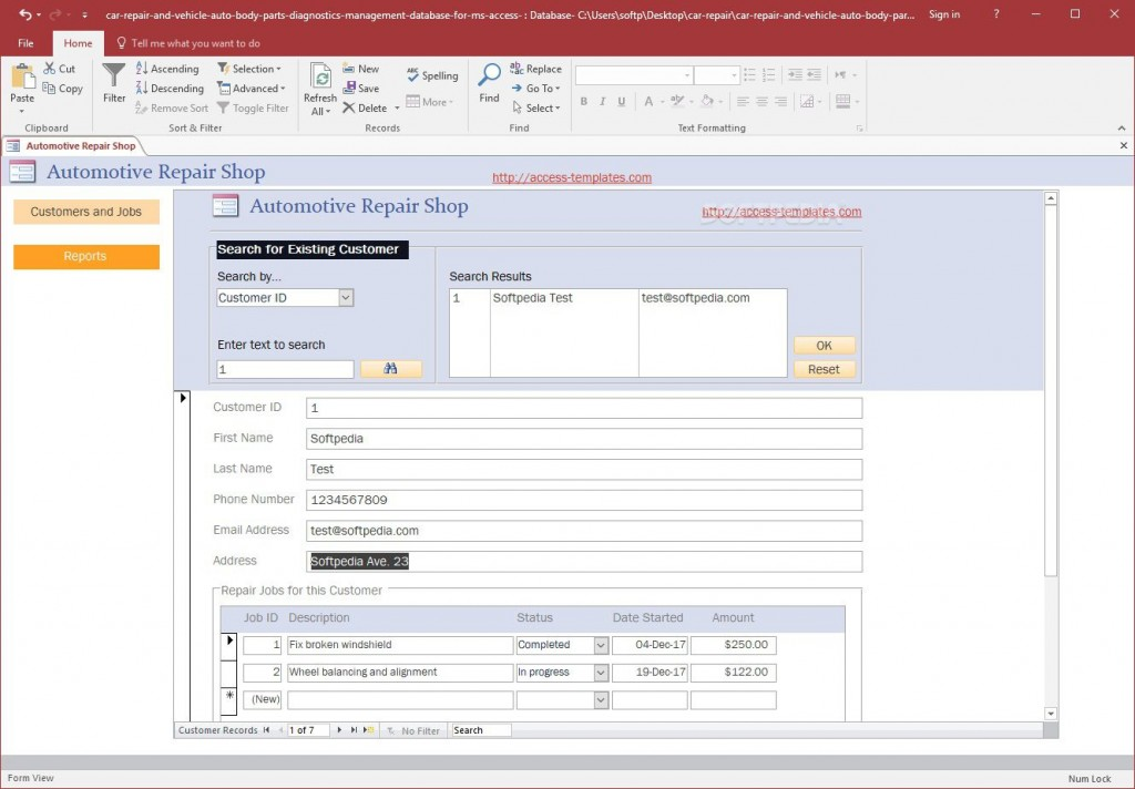 004 Singular Free Acces Database Template Sample  Templates For Small Busines Hr Microsoft InventoryLarge