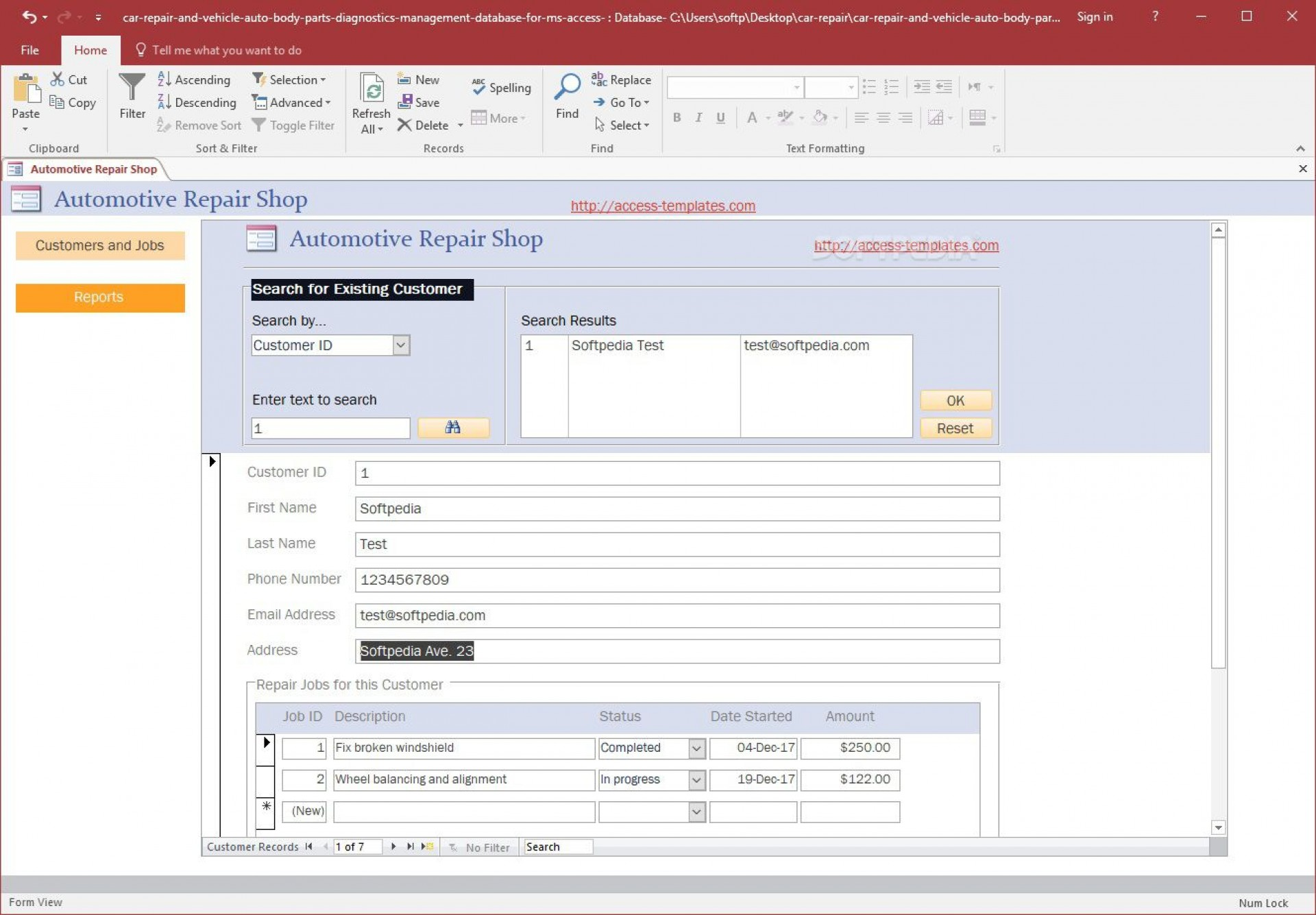 004 Singular Free Acces Database Template Sample  Templates For Small Busines Hr Microsoft Inventory1920