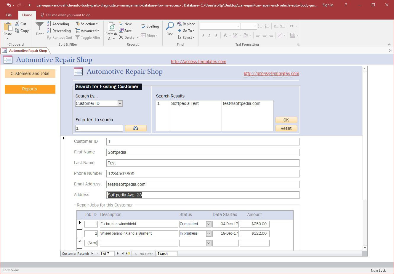 004 Singular Free Acces Database Template Sample  Templates For Small Busines Hr Microsoft InventoryFull