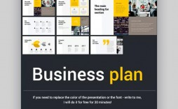 004 Singular Free Busines Proposal Template Ppt Inspiration  Best Plan 2020
