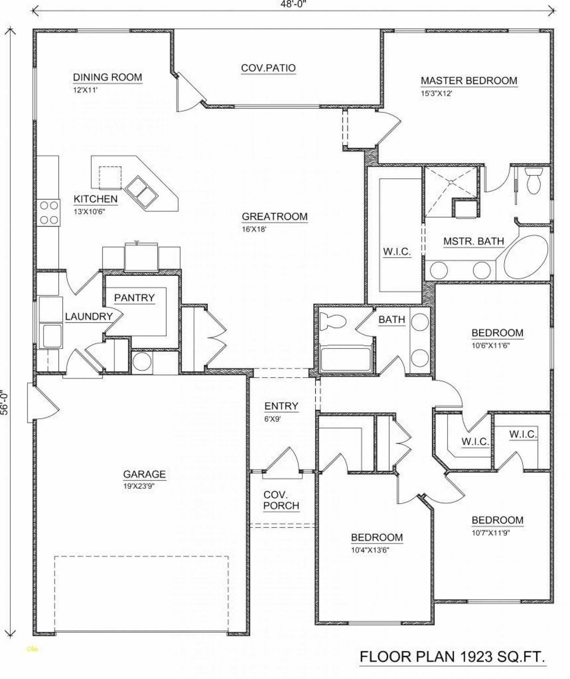 004 Singular Free Floor Plan Template Example  Excel Home House Sample1920