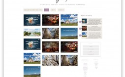 004 Singular Free Responsive Blogger Template One Column Photo