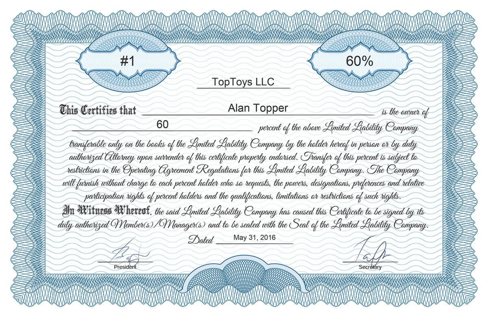 004 Singular Free Stock Certificate Template Design  Word Form Downloadable1920
