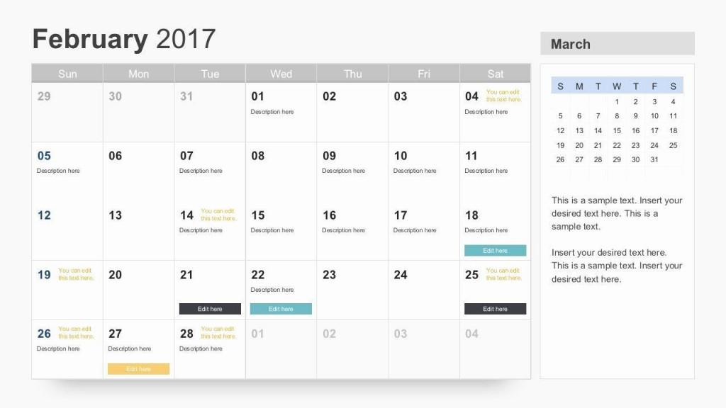 004 Singular Google Calendar Template 2017 Concept Large