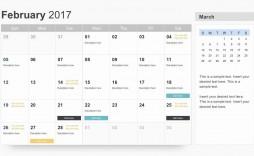 004 Singular Google Calendar Template 2017 Concept