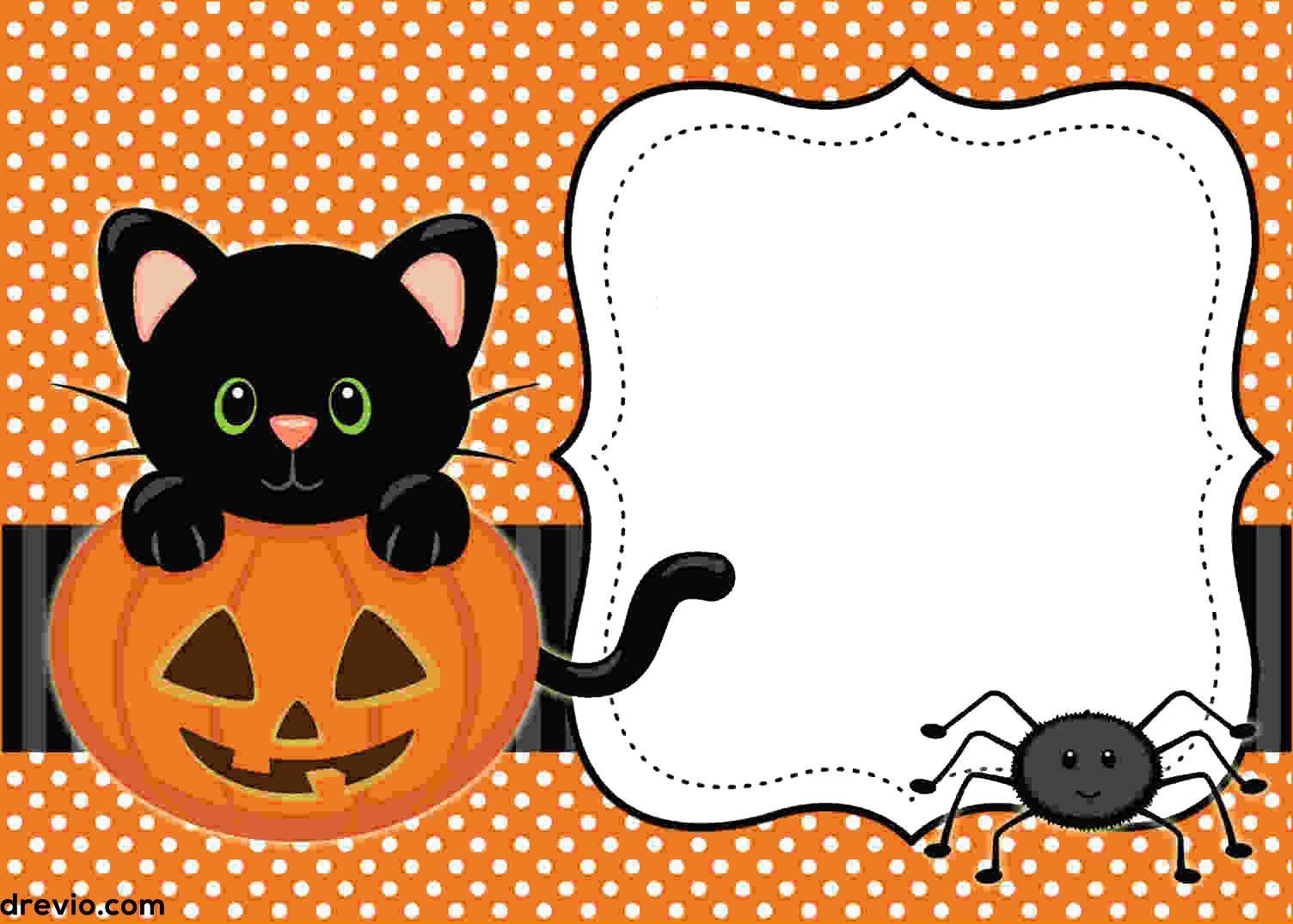 004 Singular Halloween Party Invitation Template Highest Quality  Microsoft Block OctoberFull