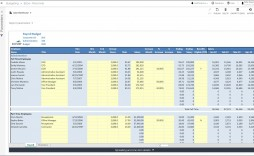 004 Singular Microsoft Office Excel Monthly Budget Template High Resolution