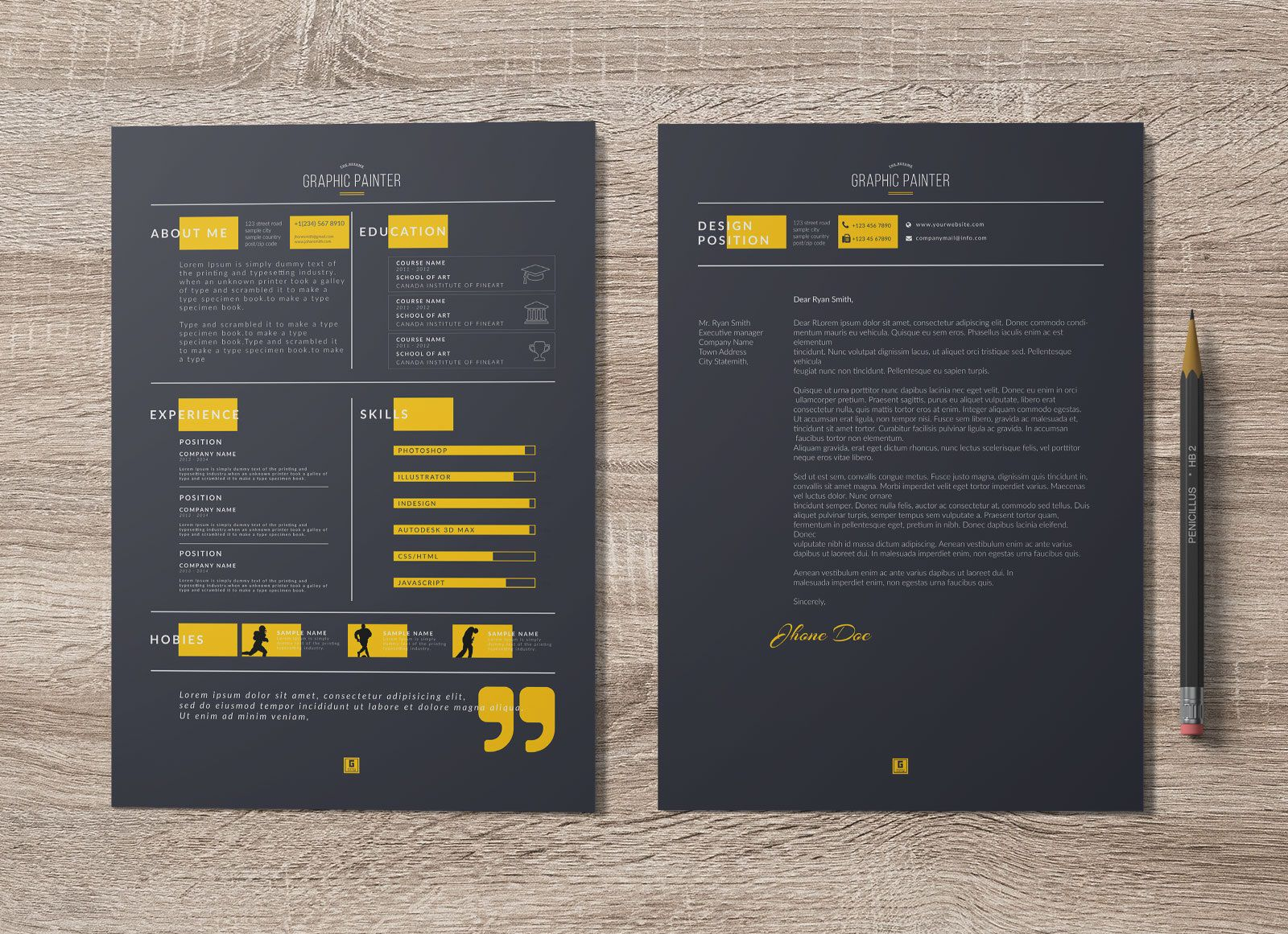 004 Singular Microsoft Word Portfolio Template High Definition  Career Professional Free DownloadFull