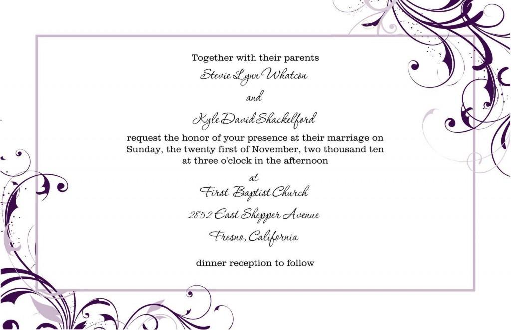 004 Singular Microsoft Word Wedding Invitation Template Free Download High Def  M EditableLarge