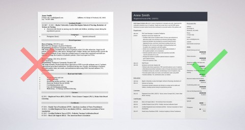 004 Singular Resume Template For Nurse Highest Quality  Sample Nursing Assistant With No Experience Rn' Free480