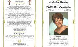 004 Singular Sample Wording For Funeral Program Photo  Programs