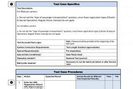 004 Singular Simple Test Plan Template Photo  Software Uat