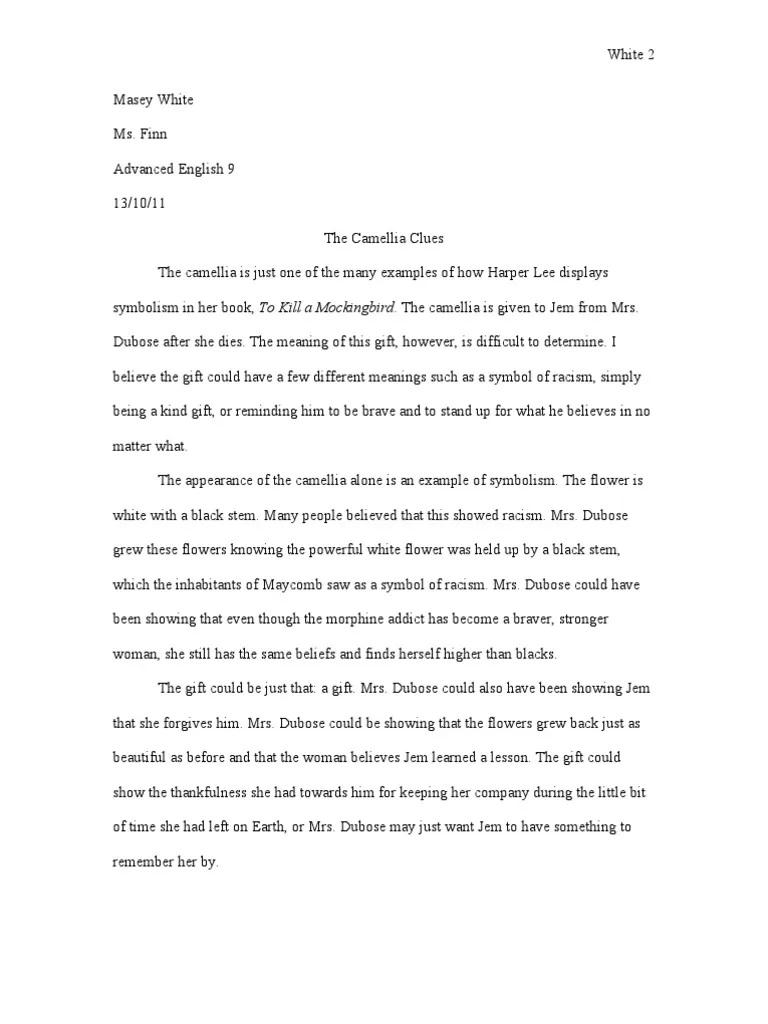 004 Singular To Kill A Mockingbird Essay High Definition  Question Courage Thesi PdfFull