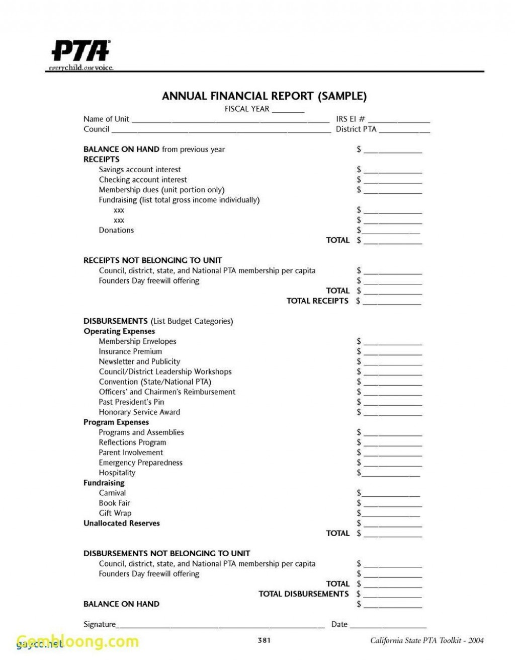004 Singular Treasurer Report Template Non Profit Design  Treasurer' Word Free For Nonprofit OrganizationLarge
