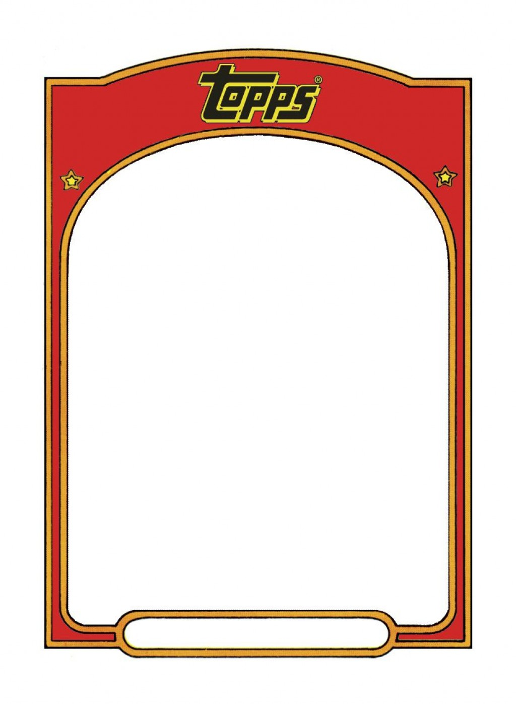 004 Staggering Baseball Card Template Photoshop Sample  Topp FreeLarge