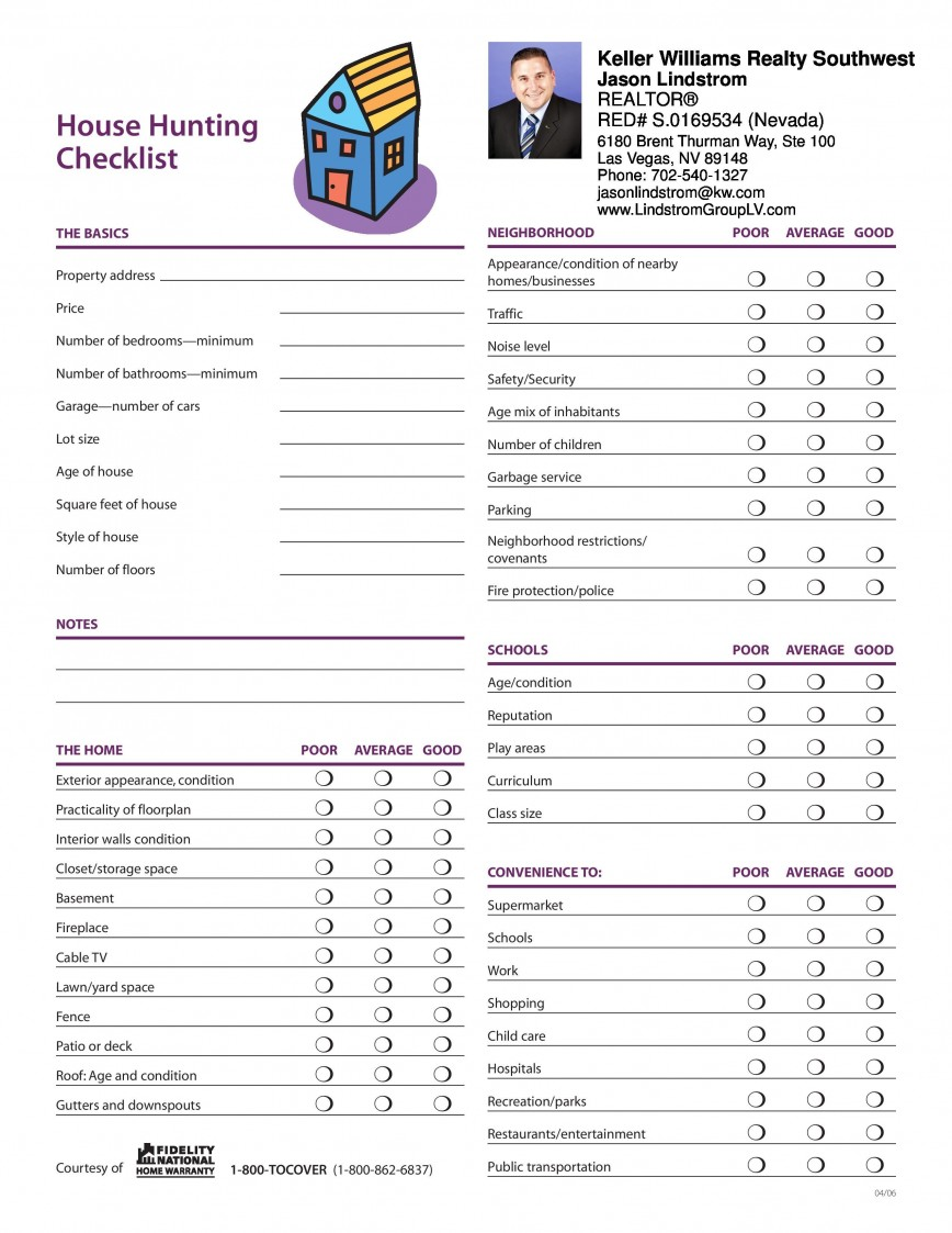 004 Staggering Buying A House Checklist Template Highest Clarity  Home Excel