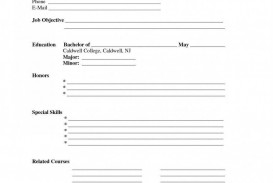 004 Staggering Free Printable Resume Template Blank High Resolution  Fill