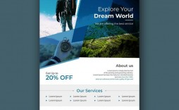 004 Staggering Free Travel Flyer Template Download High Definition