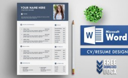 004 Staggering Resume Template Word Free Sample  Download India 2020