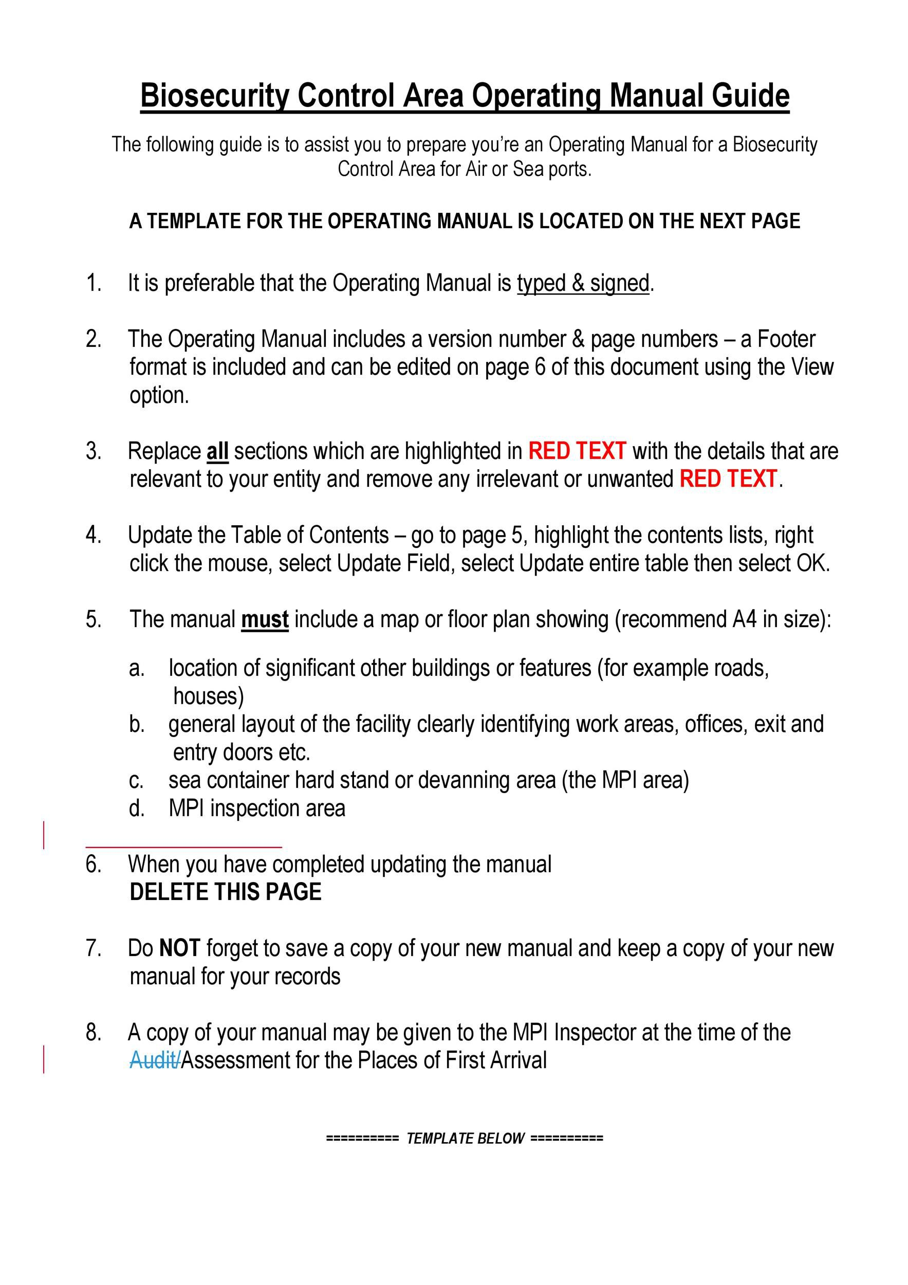 004 Staggering Step By Instruction Template High Resolution  Microsoft Word ManualFull