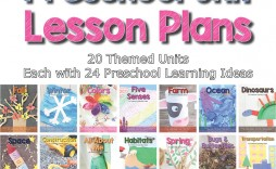 004 Staggering Thematic Unit Lesson Plan Example Concept  Template
