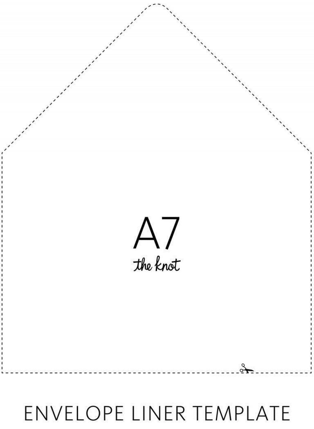 004 Stirring A7 Envelope Liner Template Picture  Printable Illustrator FreeLarge
